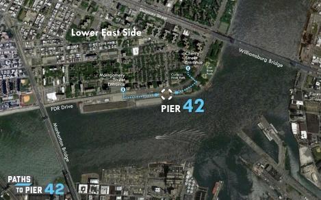 Pier 42 Site Map