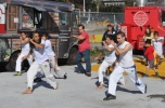 Capoeira performance at the Fall Festival