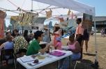 Social Dress LES - Material Memories workshop with Takashi Horisaki at the Summer Launch Celebration