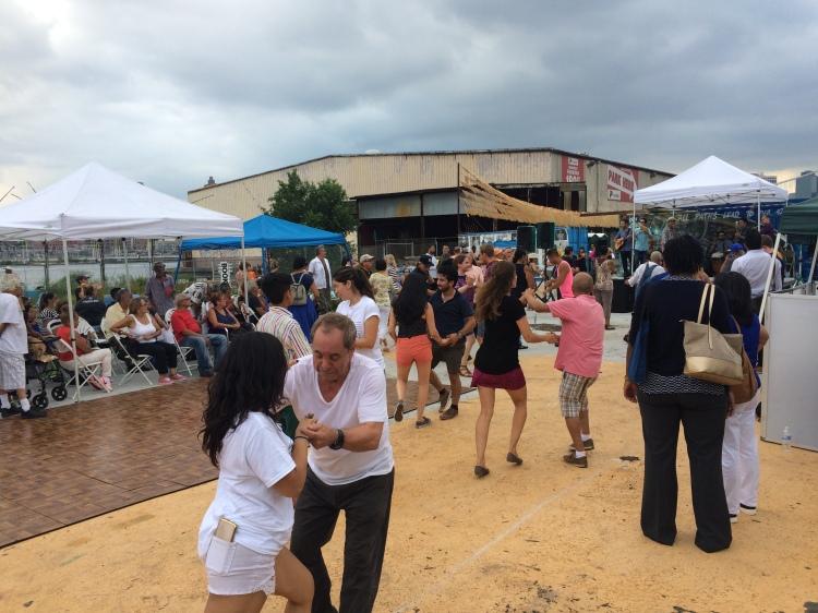 Dancing on Pier 42, 2016