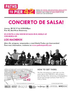 PTP42_Salsa Concert_Flyer_ Spanish